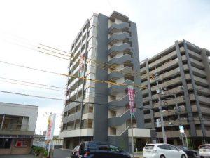 岡山市北区東古松 岡大病院すぐ近くの新築1K!