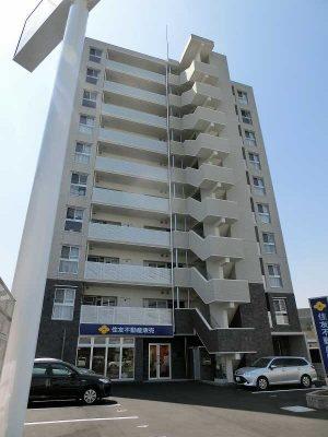 岡山市北区今1丁目の10階建て賃貸マンション!