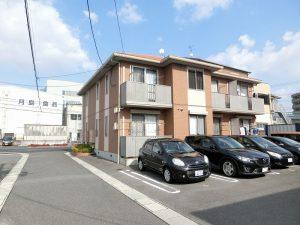 JR山陽本線/北長瀬駅から徒歩10分圏内の2階建てアパート!