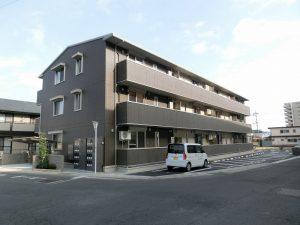 岡山市北区高柳東町の新築アパートです☆