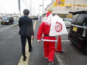 サンタさん出撃