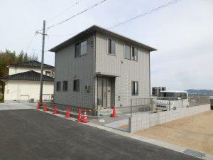 岡山市中区円山の新築戸建て!